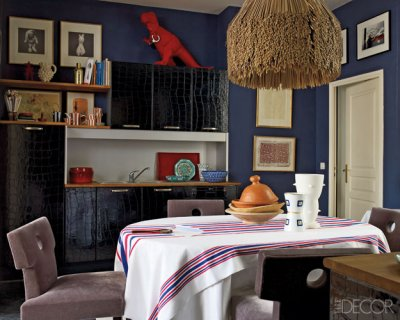 Gagnere Paris Apartment - Simon Upton for Elle Decor