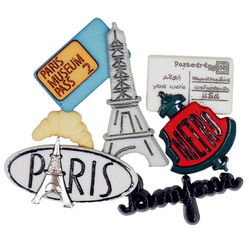 Paris Button Pack