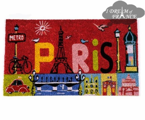 Paris Coconut Fiber Doormat