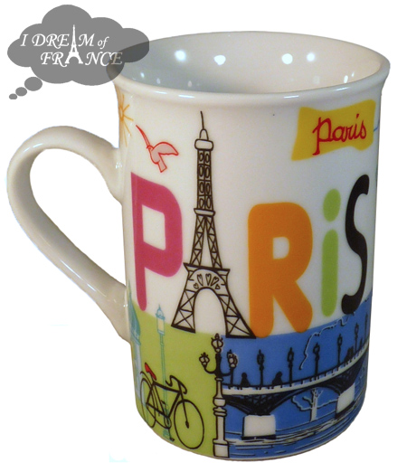 Paris Ceramic Mug
